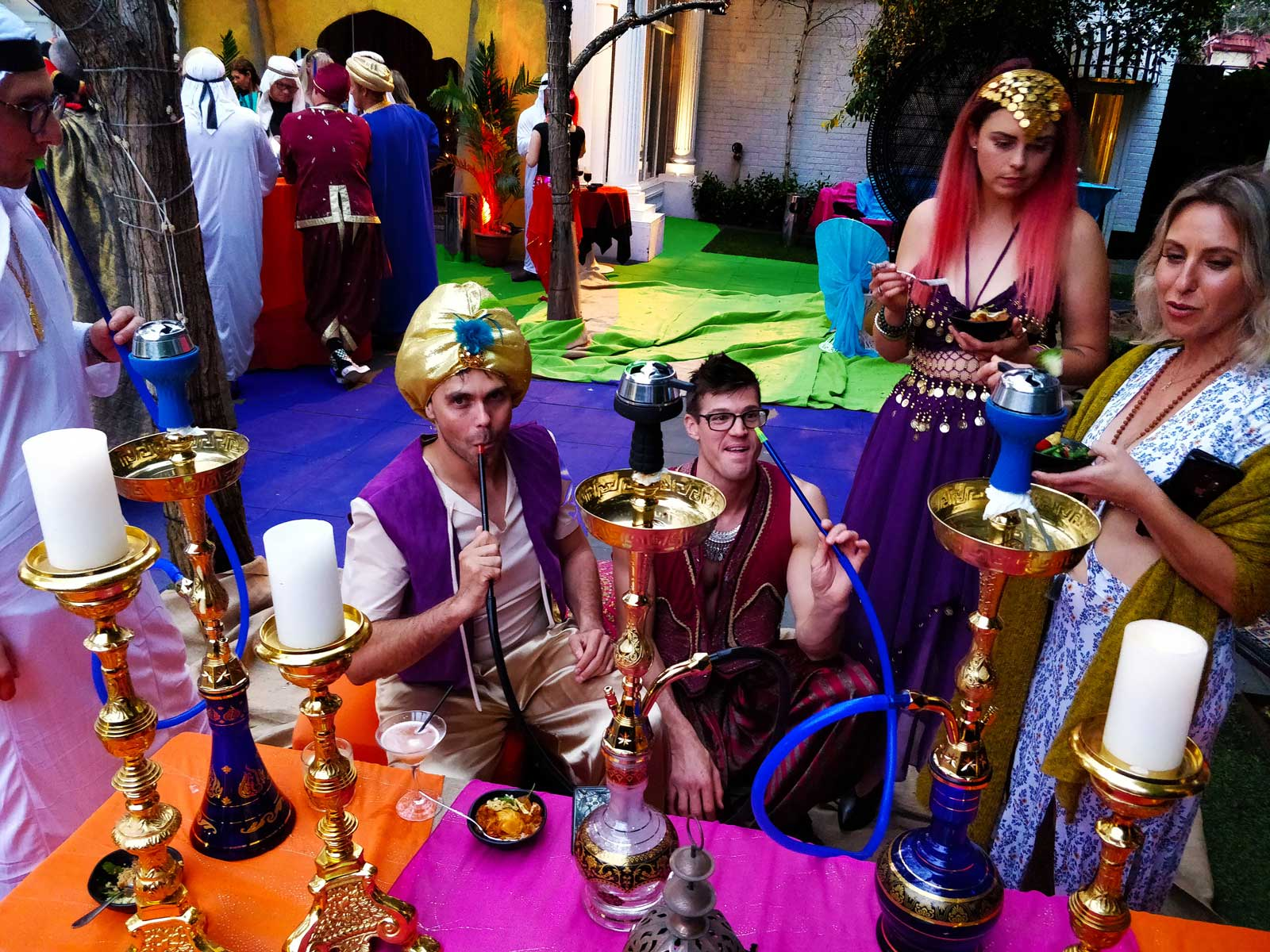Hire a Hookah for events in Melbourne