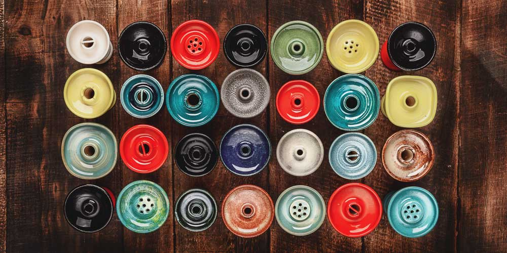 Types of Hookah Shisha bowls 1