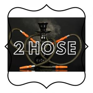 2 Hose Shisha