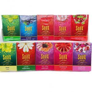 10 Assorted Shisha Flavours